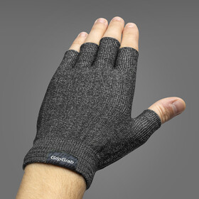 GripGrab Freedom Knitted Cycling Gloves black